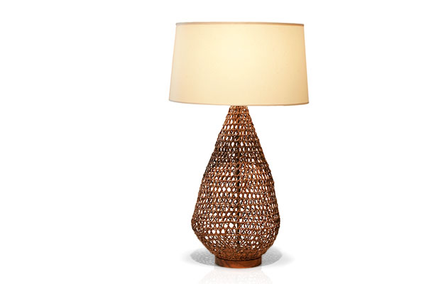 Tucker robbins rattan table lamp rattan table lamp aloadofball Choice Image